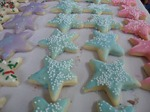 picture of glazed sugar cookies